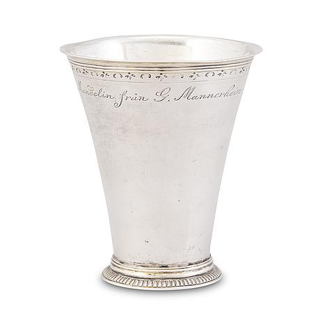 Pikari, hopeaa, johan andersson starin (1723-1756), tukholma 1746.