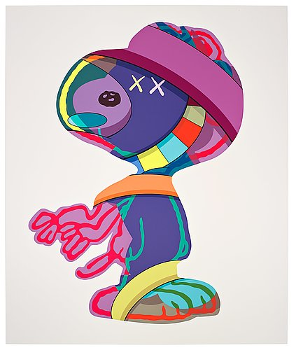 "Kaws, ""things that comfort""."