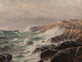 190. Berndt Lindholm, SHORE CLIFFS.