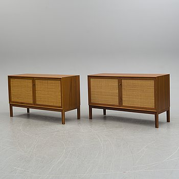 ALF SVENSSON, a pair of sideboards, 1960´s.