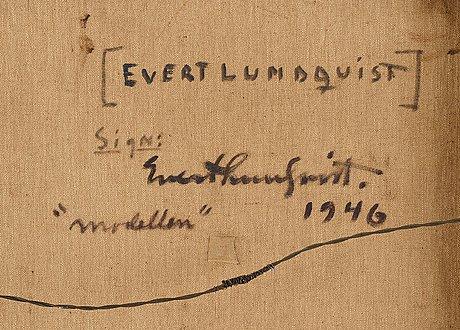 "Evert lundquist, ""modellen""."