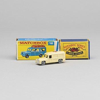LESNEY MATCHBOX SERIES, 3 CARS.