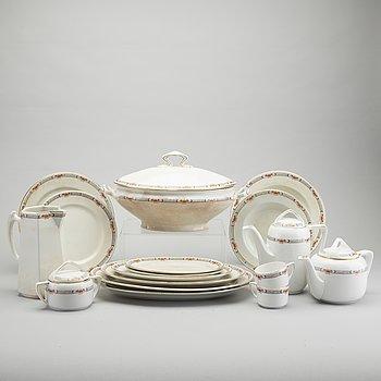 DINNERWARE, 57 pieces, ironstone, Rörstand, 1910s.