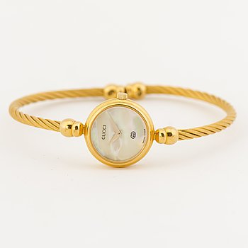 """GUCCI, """"Twisted Cable Bangle Watch"""", armbandsur, 25 mm."""
