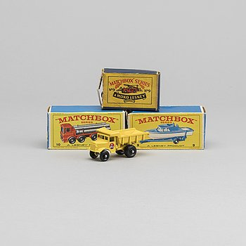 LESNEY MATCHBOX SERIES, 4 st, bland annat Quarry Truck -1.