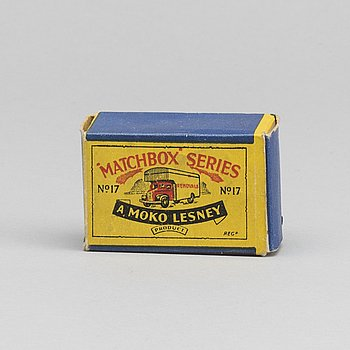 LESNEY MATCHBOX SERIES, Bedford Removals Van RW 17A-3.