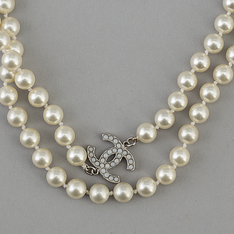 A necklace by chanel, 2011.