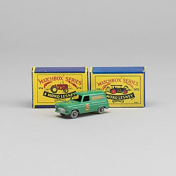 TWO LESNEY MATCHBOX SERIES CARS.