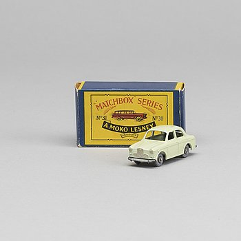 LESNEY MATCHBOX SERIES, 2 st, bland annat Ford Station wagon RW 31A-1.