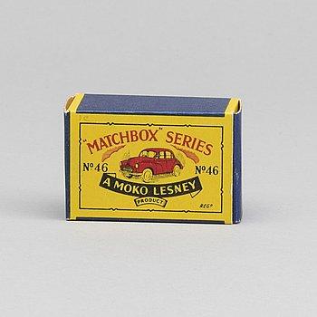 LESNEY MATCHBOX SERIES, Morris Minor 1000 RW 46A-2.