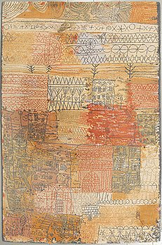MATTA, efter Paul Klee, Ege Art Line, Danmark 1900-talets slut, 275 x 183 cm.