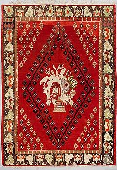 MATTA, semiantik Kelim, Besarabisk, ca 284 x 205 cm.
