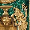 An empire early 19th century mantel clock.