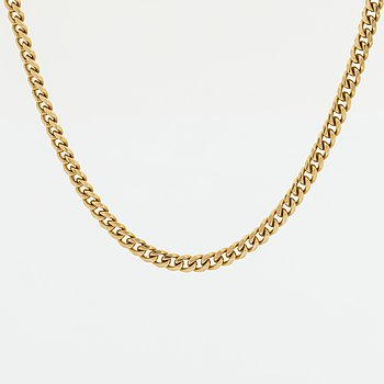 NECKLACE, 18K gold, 40,7 g.