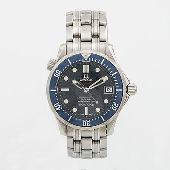 OMEGA, Seamaster Professional, Co-Axial Chronometer, 300m / 1000ft, armbandsur, 37 mm,