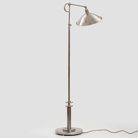 Modernistic designer, a floor lamp, 1930's.