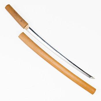 WAKIZASHI, Japan, Edo, signerad, enligt uppgift Fujiwara Nobuyoshi.