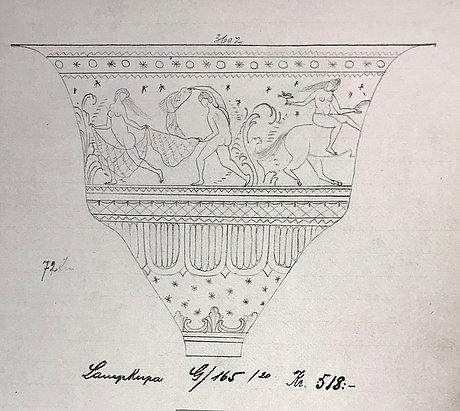 Simon gate, lampkupa, orrefors 1920.