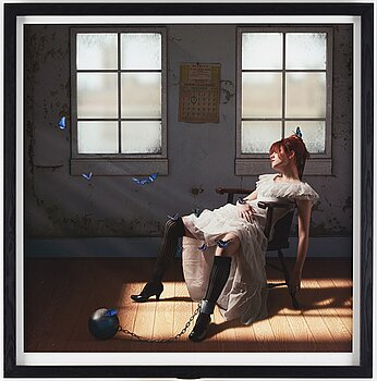 JAMIE BALDRIDGE, photograph signed and numbered 1/3.