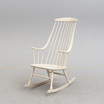 A 'Bohem' rocking chair by Lena Larsson, Nesto, Nässjö.