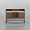 A jean gillon counter/cocktail cabinet, woodart brazil, 1960:s.