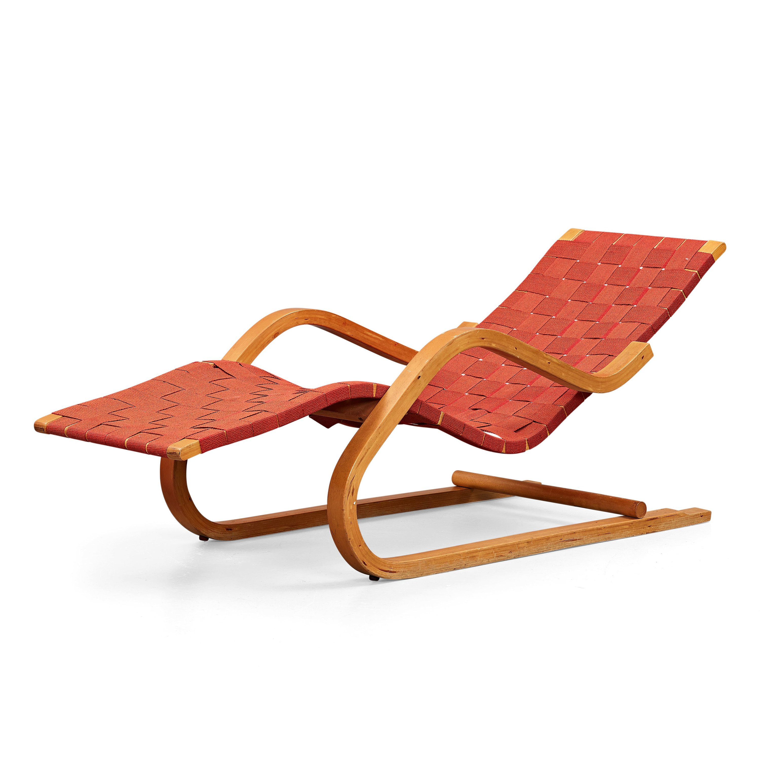 ALVAR AALTO A Lounge Chair Model 39 Manufactured By Aalto Design In Hedemora Sweden 1945 55