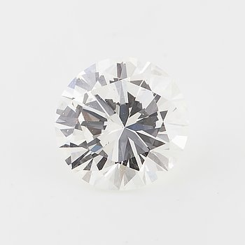 A brilliant cut diamond, ca 1.75 ct.