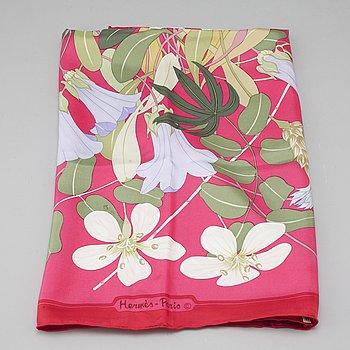 "HERMÈS, scarf, ""Flora Graeca""."