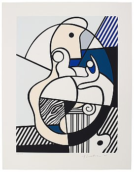 """575. PORTFÖLJ, """"Bonjour Max Ernst"""" (24)."""