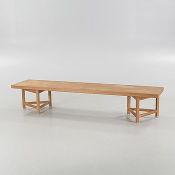 A bench / table by Carl Gustaf Hiort af Ornäs, second half of the 20th century.