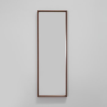A late 20th century mirror by M.J: Denmark.