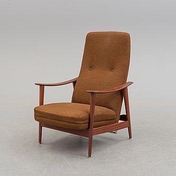 A 1960s easy chair by Stokke Möbelfabrikk, Norway.
