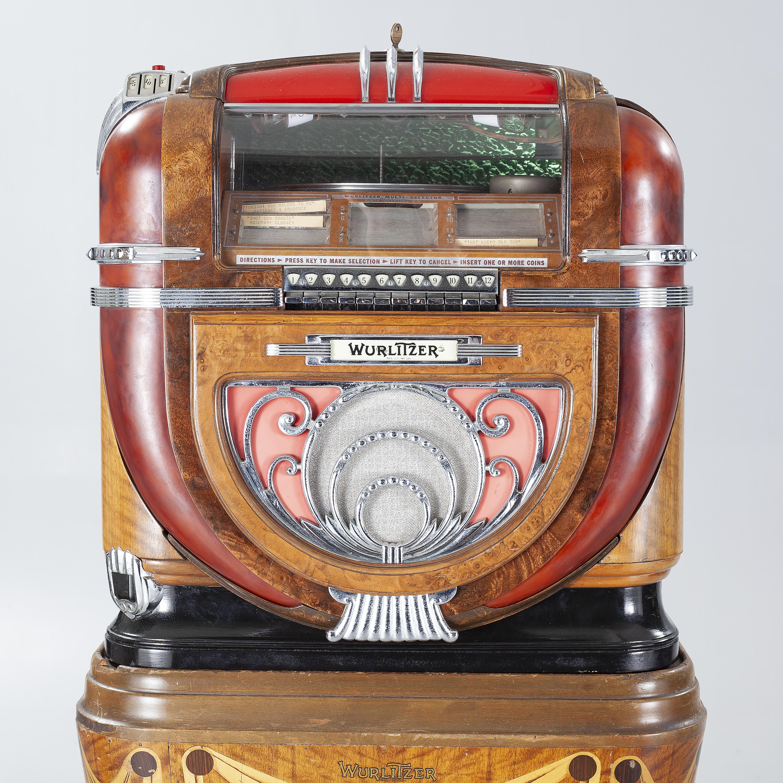 JUKEBOX, Wurlitzer Model 81, on original wooden stand