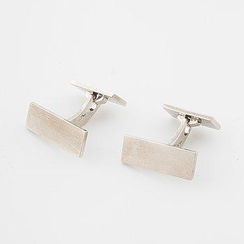 WIWEN NILSSON, Lund, 1946, a pair of cufflinks.
