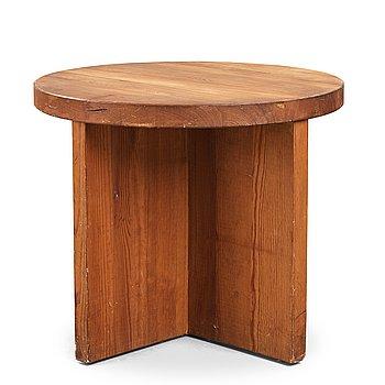 "315. Axel Einar Hjorth, a ""Lovö"" stained pine table, Nordiska Kompaniet, Sweden 1930's."