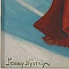 Jenny nyström, eleganta flanörer i juletid