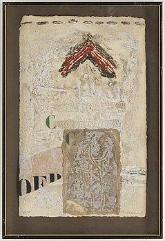 JAMES COIGNARD, cardorundumetsning, signerad J Coignard och numrerad 61/75 med blyerts.