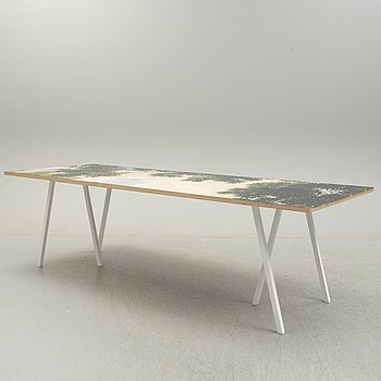 A 'Loop stand' table by Leif Jørgensen for HAY.