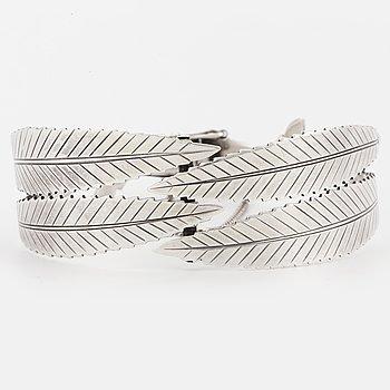 A Gertrud Engel for A Michelsen sterlingsilver bracelet.