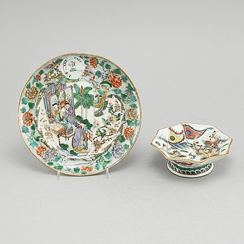 A Chinese porcelain, 18/19th century.