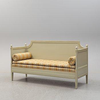 A 19/20th  century Gustavians style sofa.