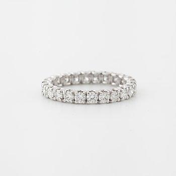 RING, med briljantslipade diamanter totalt ca 1.75 ct.