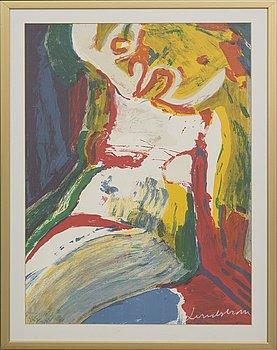 BENGT LINDSTRÖM, Färglitografi, signerad o numrerad 165/333.
