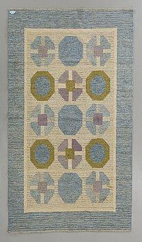 MATTA, rölakan, möjligen Birgitta Södergren, signerad BS, 245 x 152 cm.