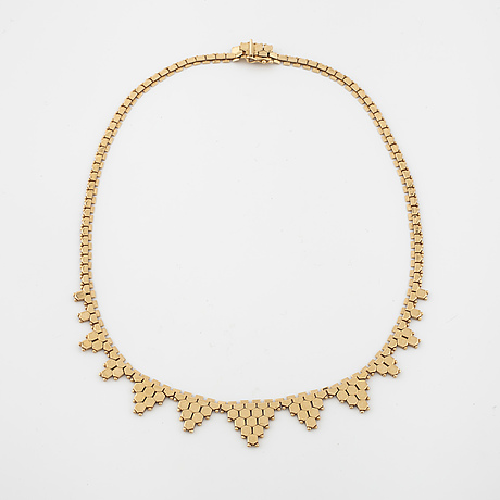 A necklace from vicenza, italy.