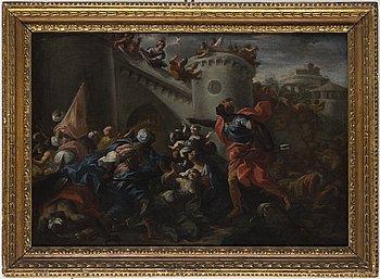 ITALIENSK KONSTNÄR, 1600-TAL. olja på duk.