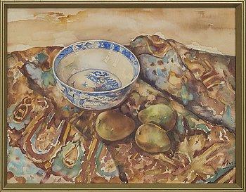 ARWID KARLSSON, akvarell, monogramsignerad.