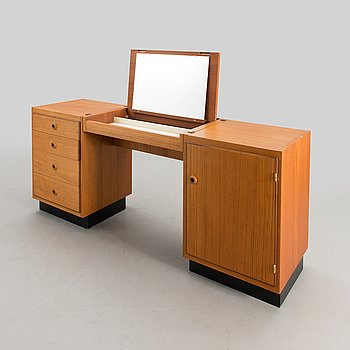 """OLOF OTTELIN, skänk / toilettebord, """"Beta-serien"""", Oy Stockmann Ab, Kervo Snickerifabrik, 1960-tal."""