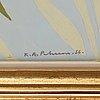 """Karl axel pehrson, """"ljus från fyra årstider""""."""