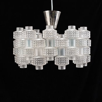 A mid 20th centry 'Festival' ceiling light by gert Nyström, Fagerhults belysning.